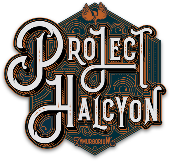 Project Halcyon Distillery Logo